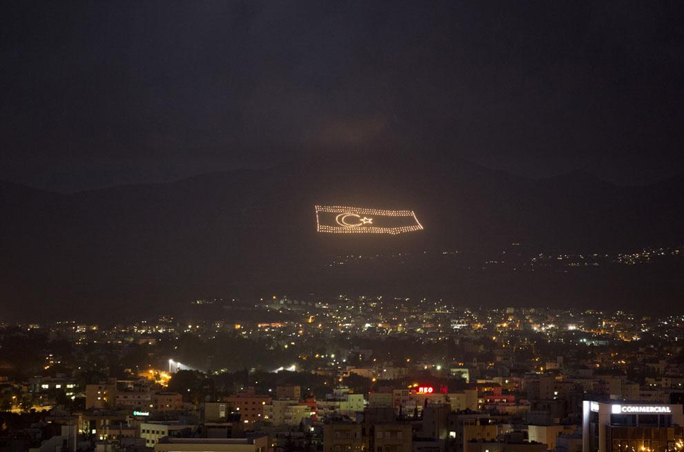 Флаг самопровозглашенной Турецкой Республики