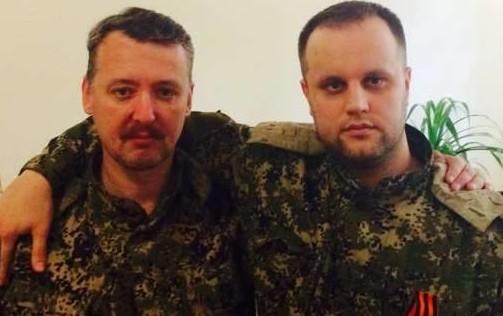 Игорь Стрелков и Александр Бородай