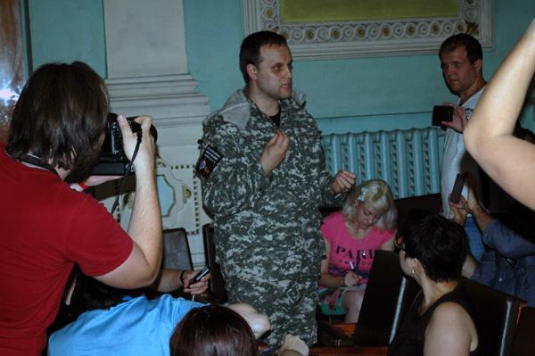 """Павел Губарев, """"народный губернатор Донбасса"""", один из политических деятелей ДНР"""
