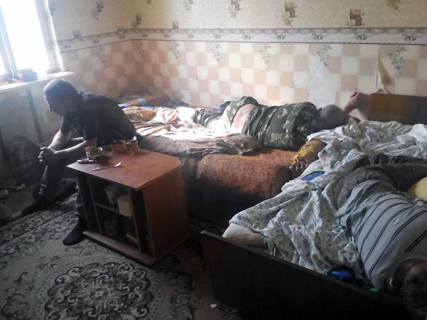 В Шахтах жили в ужасных условиях