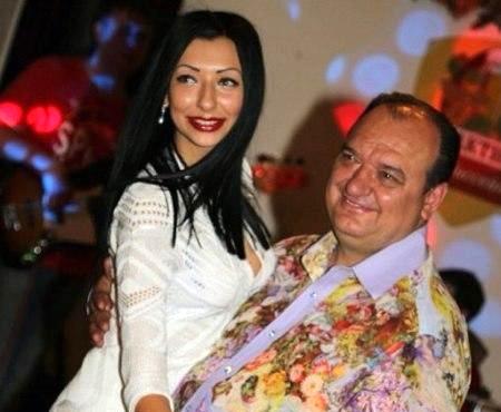 Карина Струк со своим отцом Владимиром Струк (ПР)